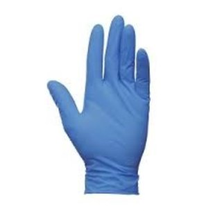 Avalanche Disposables Latex handschoenen gepoederd (blauw - 1000st)