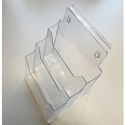 Folderbak 3-vak x A4 staand