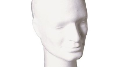Deco head for wig