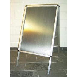 Stoepbord 50x70 cm ALU- Rondo