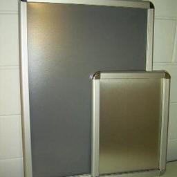 Klik-lijst 50x70  cm ALU-klap 32mm Rondo