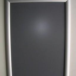 Klik-lijst 21x30  cm ALU-klap -A4 recht