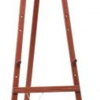 Ezel mahonie voor krijtbord - hoogte 165, mahonie - mahagonie - mahogany - acajou - mogno