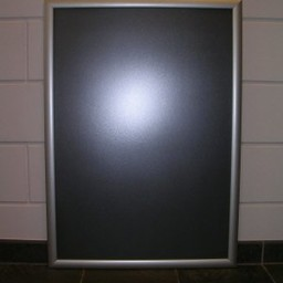 Klik-lijst 84x118 cm ALU-klap -A0 recht