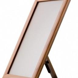 Klik-lijst 21x30  cm - A4  hout imitatie