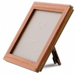 Klik-lijst 15x21  cm - A5  hout imitatie