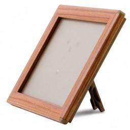 Klik-lijst 10x15  cm - A6  hout imitatie