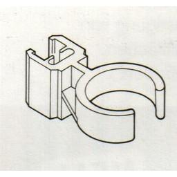 Buisklem transp voor ronde buis 28mm