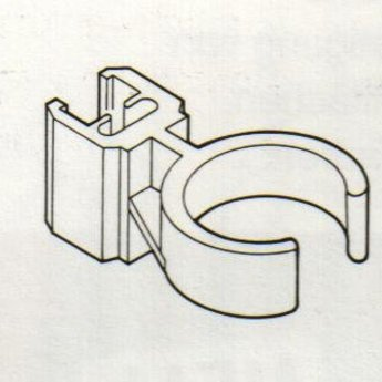 Buisklem transp voor ronde buis 28 - 32mm