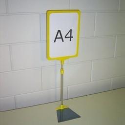 Standaard A3 geel compl voet trapezium