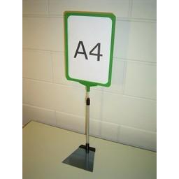 Standaard A4 groen compl voet trapezium