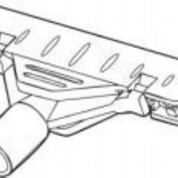 Clampholder voor verstelbare buis 10mm