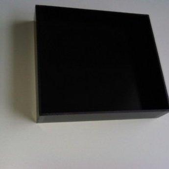 Deksel voor Garderobebak PS zwart