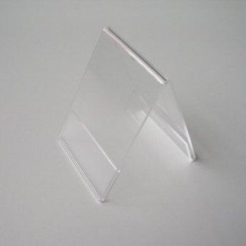Acryl-dakstandaard  breedte x hoogte 148x105 mm - A6