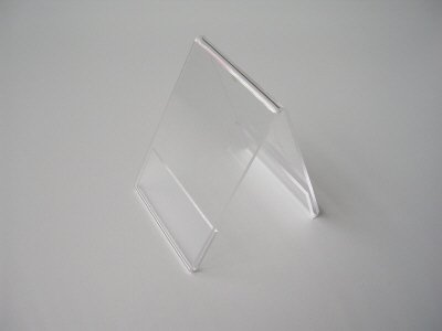 Acryl-dakstandaard bxh 74x105 mm - A7