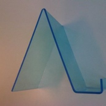 Acryl-boekensteun 105x150mm diep 40/125