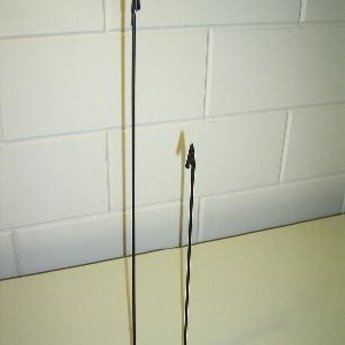 Deco-knijpstandaard  60 cm  met vaste krokoknijper