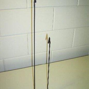 Deco-knijpstandaard  80 cm  met vaste krokoknijper