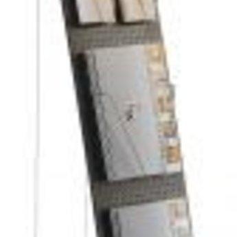 Folderstandaard Tension alubeuk 175x45cm