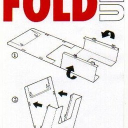 Plano folderbakje 11x21 cm staand/hang