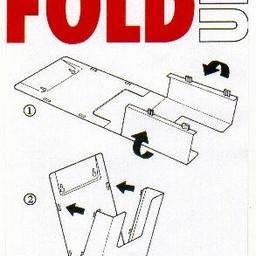 Plano folderbakje A4 staand/hangend