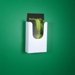 Folderbak BIO 1/3 A4 hangend kleur wit