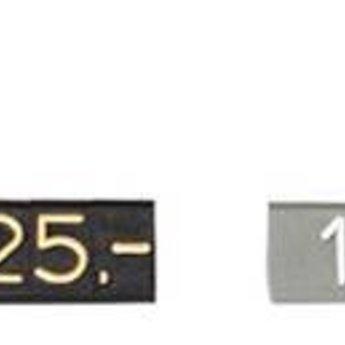 Bock Compact Midi grijs/wit  3           20st<br /> Cijferhoogte 6,3 mm