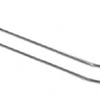 Boardhaak dubbele ZB pen dicht 150 mm 3,4mm, voor rugwand hart op hart 50mm, 50 stuks. Inhang draaddikte is 2.5mm. Prijs per verpakking van 50 stuks.