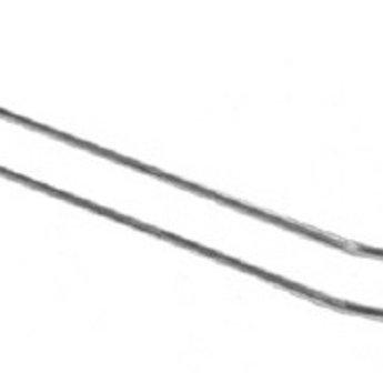 Boardhaak dubbele ZB pen dicht 250 mm 3,4mm, voor rugwand hart op hart 50mm, 50 stuks. Inhang draaddikte is 2.5mm. Prijs per verpakking van 50 stuks.