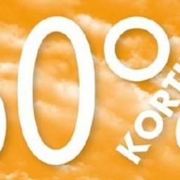 Raambiljet thema 60% KORTING afmeting 50