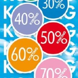 Raambiljet thema 10% tot 70% KORTING