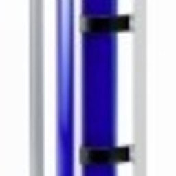 Papierafroller grijs 75cm - vertikaal