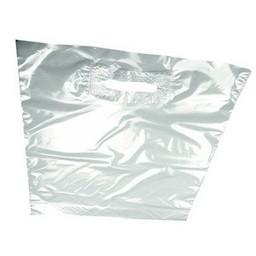 Draagtassen trans 30x35 - 2x4,5 cm 750st
