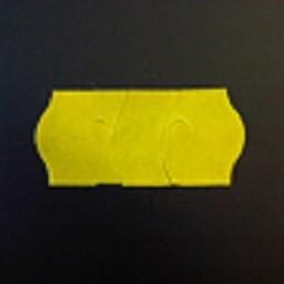 Etiket 2612 geel zekerheidsst.    54.000