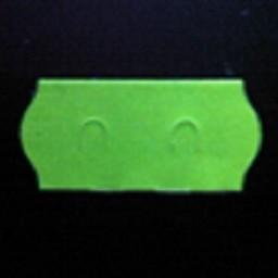 Etiket 2612 fl.groen perm 2-Slit  54.000