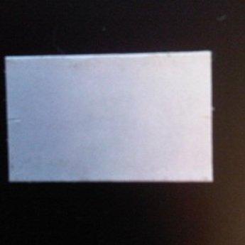 Etiket 26x16 rechthoek wit semie-permanent -2slit 36.000  (36 rollen
