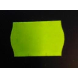 Etiket 2616 afneembaar fluor geel