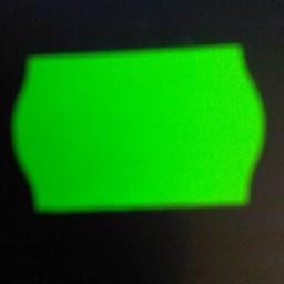 Etiket 2516 golf fluor groen afneembaar