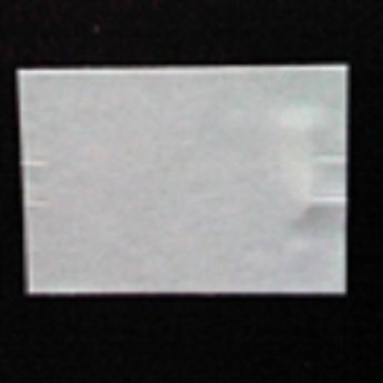 Etiket Sato PB-220 of Duo 20 wit permanent, afmeting 23.14x16.2 mm. Doosinhoud 60.000  (=50 rollen