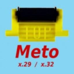 Inktrol Meto 3219+2928 gele clip