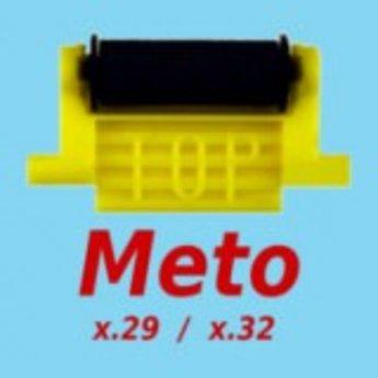 Inktrol voor prijstang Meto 3219+2928+3329 met de gele houder.