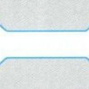 Juwelier-etiket 49x10 mm doos 5.000st  (inhoud 210 velletjes