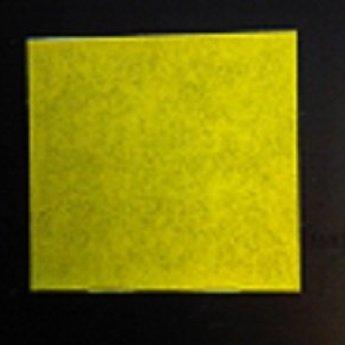 Etiket 2928 rechthoek geel afneembaar, doosinhoud 30 rollen