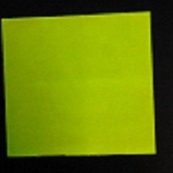 Etiket 2928 fluor geel afneembaar 21.000, doosinhoud 30 rollen