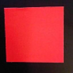 Etiket 2928 fluor rood afneembaar 21.000