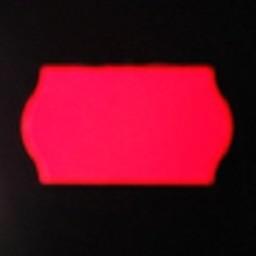 Etiket 2212 fluor rood afneembaar 63.000