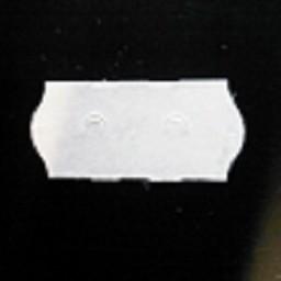 Etiket 2612 wit perm-2slit        54.000