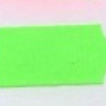 Etiket 26x12 golfrand fluor groen permanent  2-sl  54.000 geschikt voor Meto (=36 rollen a 1500 etiketten) Gommering / kleefkracht 2