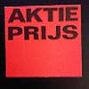 Etiket 2928 fl.rood perm AKTIE PRIJS