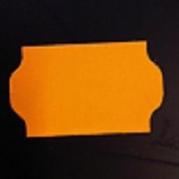 Etiket 3219 fluor oranje afneemb 30.000